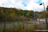 Abandoned Outdoor Tennis Court