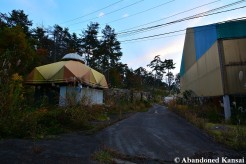 Abandoned Theme Park Ticket Shop