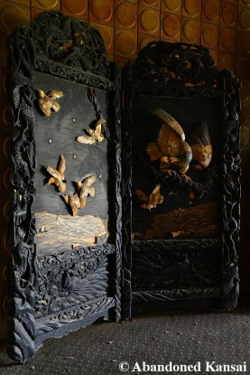 Abandoned Wood Carvings