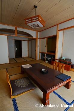 Beautiful Abandoned Onsen Room