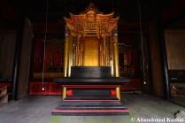 Deserted Temple Center Piece