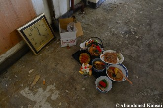 Abandoned Fake Food