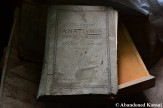 Abandoned German Medical Book