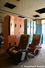 Abandoned Massage Chairs