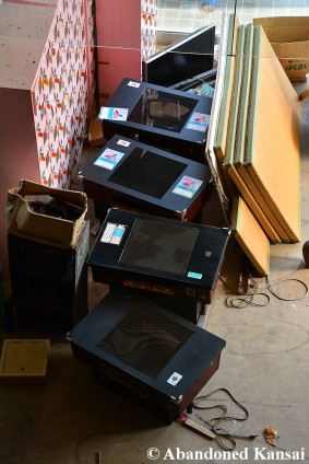 Abandoned Table Arcade Machines