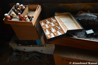Old Abandoned Japanese Medicine