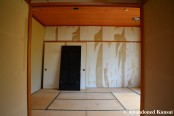 Tatami Room Under Renovation