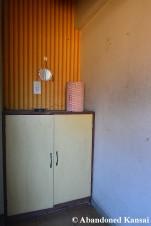 Abandoned Japanese Dormitory Cabinet
