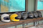 Abandoned Racing Helmets