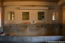 Abandoned Shared Japanese Dormitory Bath
