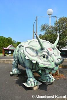 Abandoned Theme Park Dinosaur