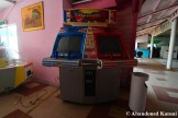 Abandoned Title Fight Arcade Machine