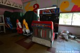 Abandoned Virtua Racing Arcade Machine