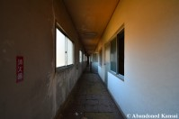 Hallway Of An Abandoned Japanese Dormitory