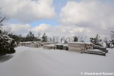 Scaffolding Under Snow