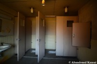 Shared Japanese Dormitory Toilets
