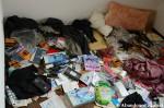 Messy Abandoned HotelRoom