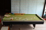 Rundown Billiards Table