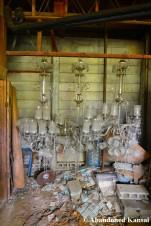 Abandoned Chandeliers