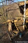 Collapsed Wooden RestaurantDeck