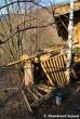 Collapsed Wooden Restaurant Deck
