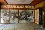Japanese Dragon Painted OnFusuma