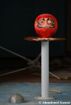 Abandoned Daruma Doll
