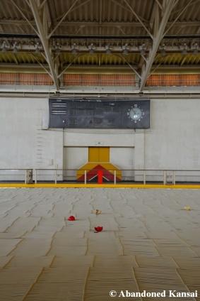 Deserted Ice Rink Scoreboard