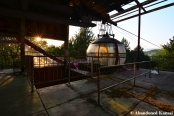 Sunset At Abandoned Ropeway