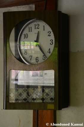 Abandoned School Clock