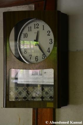 Abandoned School Clock