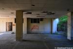 Deserted Hospital Yard