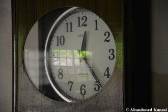 Old Japanese School Clock