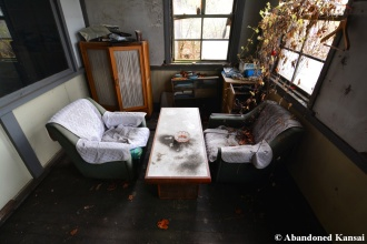 Abandoned Office Sitting Area