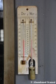 Abandoned Old Thermometer