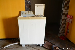 Abandoned Pachinko Parlor Washing Machine