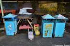 Abandoned Garbage Bins
