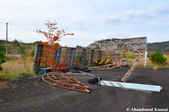 Amusement Park Falling Apart