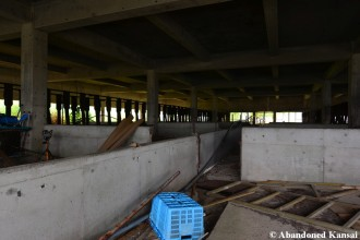 Concrete And Metal Piggery