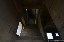 Eerie Concrete Staircase