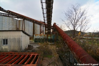Rusting Belt Conveyor System