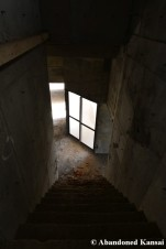 Steep Unfinished Staircase