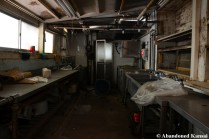 Abandoned Hotel Kitchen