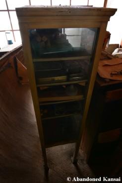 Abandoned Medical Cabinet