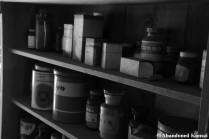 Abandoned Pharmacy Monochrome