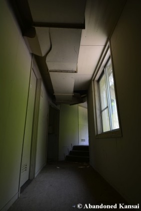 Abandoned Rokkosan Hotel Hallway