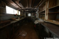 Abandoned Rokkosan Hotel Kitchen
