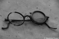 Abandoned Showa Era Glasses Monochrome