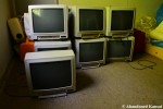 Abandoned Toshiba TVs
