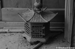 Beautiful Old Lantern Monochrome